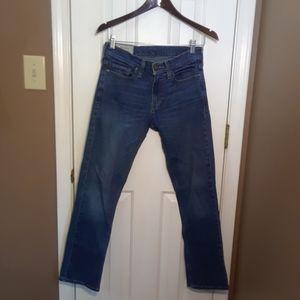 NWOT 28X30 HOLLISTER SLIM STRAIGHT Jeans Mens